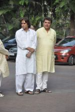 Raza Murad at Farooq Shaikh_s prayer meet in Mumbai on 30th Dec 2013 (27)_52c266a154cf1.JPG