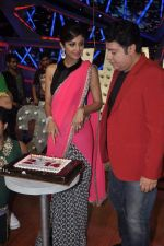 Shilpa Shetty, Sajid Khan at Nach Baliye new year_s celeberations in Mumbai on 30th Dec 2013 (5)_52c268040ddfa.JPG