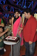 Shilpa Shetty, Sajid Khan at Nach Baliye new year_s celeberations in Mumbai on 30th Dec 2013 (6)_52c2684233f37.JPG