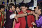 Shilpa Shetty, Sajid Khan, Terence Lewis at Nach Baliye new year_s celeberations in Mumbai on 30th Dec 2013 (16)_52c267cac5ad9.JPG