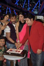 Shilpa Shetty, Sajid Khan, Terence Lewis at Nach Baliye new year_s celeberations in Mumbai on 30th Dec 2013 (22)_52c268050d569.JPG