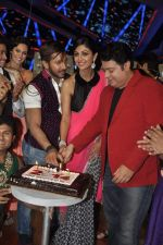 Shilpa Shetty, Sajid Khan, Terence Lewis at Nach Baliye new year_s celeberations in Mumbai on 30th Dec 2013 (25)_52c26843478bf.JPG