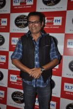 Abhijeet at Big FM new radio show launch in Andheri, Mumbai on 3rd Jan 2014