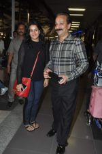 Baba Siddique arrived at airport in Mumbai on 3rd Jan 2014 (65)_52c7abc94cf7e.JPG