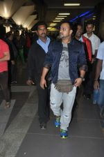 Sajid Ali snapped at the airport in Mumbai on 5th Jan 2014