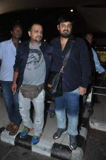 Sajid Ali, Wajid Ali snapped at the airport in Mumbai on 5th Jan 2014