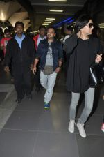 Sushmita Sen, Sajid Ali snapped at the airport in Mumbai on 5th Jan 2014