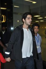 Zayed Khan snapped at the airport in Mumbai on 5th Jan 2014