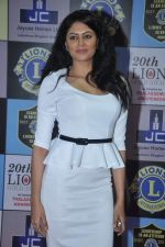 Kavita Kaushik at Lions Awards in Mumbai on 7th Jan 2014