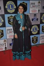 Madhushree at Lions Awards in Mumbai on 7th Jan 2014