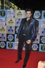Manish Paul at Lions Awards in Mumbai on 7th Jan 2014