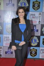 Monica Bedi at Lions Awards in Mumbai on 7th Jan 2014