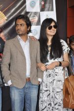 Nawazuddin Siddiqui, Niharika Singh  at the Promotion of Miss Lovely at Buntara Bhavan College on 7th Jan 2014 (138)_52ce38607a6d2.JPG