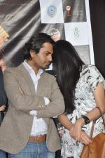 Nawazuddin Siddiqui, Niharika Singh  at the Promotion of Miss Lovely at Buntara Bhavan College on 7th Jan 2014 (140)_52ce38616d557.JPG