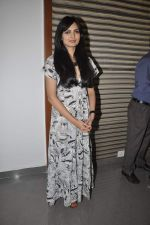 Niharika Singh at the Promotion of Miss Lovely at Buntara Bhavan College on 7th Jan 2014 (192)_52ce3869bb235.JPG