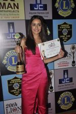 Shraddha Kapoor at Lions Awards in Mumbai on 7th Jan 2014