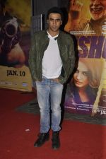 Amit Sadh at Dedh Ishqiya premiere in Cinemax, Mumbai on 9th Jan 2014