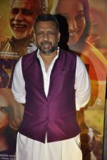 Anubhav Sinha at Dedh Ishqiya premiere in Cinemax, Mumbai on 9th Jan 2014