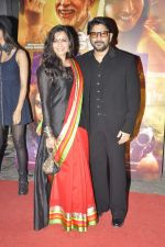 Maria Goretti, Arshad Warsi at Dedh Ishqiya premiere in Cinemax, Mumbai on 9th Jan 2014