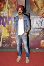 Raj Kumar Yadav at Dedh Ishqiya premiere in Cinemax, Mumbai on 9th Jan 2014