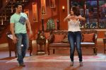 Salman Khan on the sets of Comedy Nights with Kapil in Filmcity, Mumbai on 9th Jan 2014
