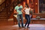 Salman Khan on the sets of Comedy Nights with Kapil in Filmcity, Mumbai on 9th Jan 2014 (144)_52cfeed7742ad.JPG