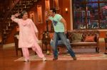 Salman Khan on the sets of Comedy Nights with Kapil in Filmcity, Mumbai on 9th Jan 2014 (225)_52cfeee4b4975.JPG