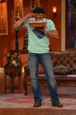 Salman Khan on the sets of Comedy Nights with Kapil in Filmcity, Mumbai on 9th Jan 2014 (91)_52cfeec7b09f4.JPG