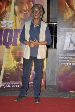 Sudhir Mishra at Dedh Ishqiya premiere in Cinemax, Mumbai on 9th Jan 2014