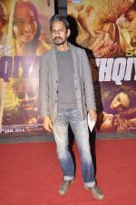 Vijay Raaz at Dedh Ishqiya premiere in Cinemax, Mumbai on 9th Jan 2014