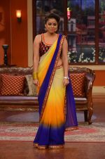 sumona chakravarti on the sets of Comedy Nights with Kapil in Filmcity, Mumbai on 9th Jan 2014
