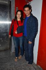 Sharman Joshi at Madhuri Dixit promotes Dedh Ishqiya in Mumbai on 11th Jan 2014 (43)_52d265f5ec62d.JPG