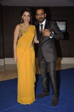 Manjari Phadnis at singer Toshi Sabri_s wedding reception in Novotel, Mumbai on 13th Jan 2014 (26)_52d4e66352b9b.JPG