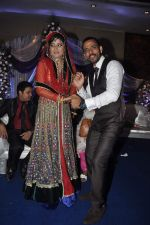 Sharib Sabri at singer Toshi Sabri_s wedding reception in Novotel, Mumbai on 13th Jan 2014 (86)_52d5191958d5d.JPG