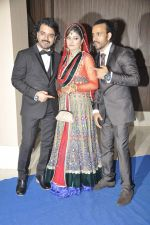 Toshi Sabri at singer Toshi Sabri_s wedding reception in Novotel, Mumbai on 13th Jan 2014 (42)_52d51a06aa083.JPG