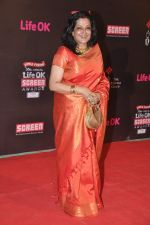 Moushumi Chatterjee at 20th Annual Life OK Screen Awards in Mumbai on 14th Jan 2014 (173)_52d6884132ed5.JPG