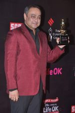 Sachin Khedekar at 20th Annual Life OK Screen Awards in Mumbai on 14th Jan 2014 (54)_52d689535cb46.JPG