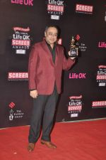 Sachin Khedekar at 20th Annual Life OK Screen Awards in Mumbai on 14th Jan 2014(333)_52d6894b38a51.JPG