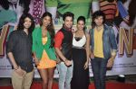 Shreyas Pardiwalla, Himansh Kohli, Rakul Preet, Dev Sharma, Nicole Faria at Yaariyan success party in Mumbai on 15th Jan 2014 (20)_52d7cf253782e.JPG