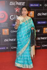 Asha Bhosle at 4th Gionne Star Global Indian Music Academy Awards in NSCI, Mumbai on 20th Jan 2014 (286)_52de208dbb320.JPG