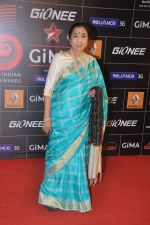 Asha Bhosle at 4th Gionne Star Global Indian Music Academy Awards in NSCI, Mumbai on 20th Jan 2014 (289)_52de208ed4d06.JPG
