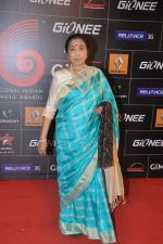 Asha Bhosle at 4th Gionne Star Global Indian Music Academy Awards in NSCI, Mumbai on 20th Jan 2014