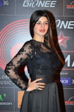Kainaat Arora at 4th Gionne Star Global Indian Music Academy Awards in NSCI, Mumbai on 20th Jan 2014 (443)_52de3392d7a52.JPG
