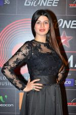 Kainaat Arora at 4th Gionne Star Global Indian Music Academy Awards in NSCI, Mumbai on 20th Jan 2014