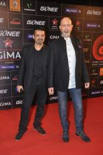 Loy Mendonsa, Ehsaan Noorani at 4th Gionne Star Global Indian Music Academy Awards in NSCI, Mumbai on 20th Jan 2014