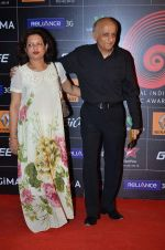 Mukesh Bhatt at 4th Gionne Star Global Indian Music Academy Awards in NSCI, Mumbai on 20th Jan 2014