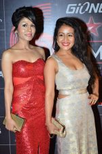 Neha Kakkar, Sonu Kakkar at 4th Gionne Star Global Indian Music Academy Awards in NSCI, Mumbai on 20th Jan 2014 (433)_52de341e8c8f0.JPG