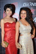 Neha Kakkar, Sonu Kakkar at 4th Gionne Star Global Indian Music Academy Awards in NSCI, Mumbai on 20th Jan 2014 (438)_52de340ba1996.JPG