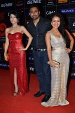 Neha Kakkar, Sonu Kakkar at 4th Gionne Star Global Indian Music Academy Awards in NSCI, Mumbai on 20th Jan 2014 (443)_52de341f85053.JPG