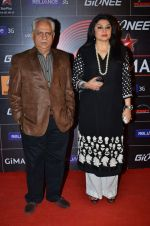 Ramesh Sippy, Kiran Juneja at 4th Gionne Star Global Indian Music Academy Awards in NSCI, Mumbai on 20th Jan 2014